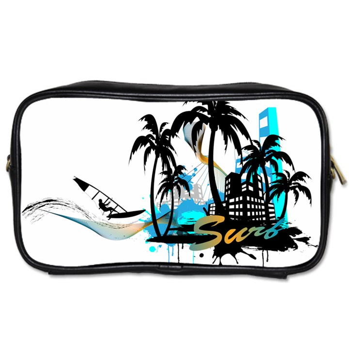 Surf Travel Toiletry Bag (Two Sides)