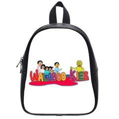 Walabookies Stickers School Bag (small)