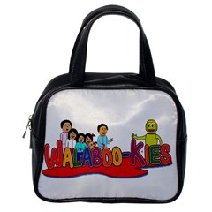 Walabookies stickers Classic Handbag (One Side)