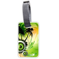 Speaker Luggage Tag (two Sides)