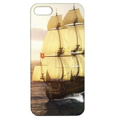 French Warship Apple Iphone 5 Hardshell Case With Stand