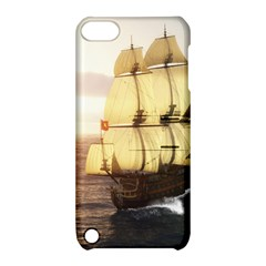 French Warship Apple iPod Touch 5 Hardshell Case with Stand