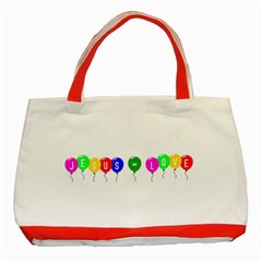 Balloons Classic Tote Bag (Red)