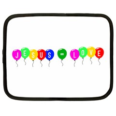 Balloons Netbook Case (large)