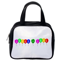 Balloons Classic Handbag (one Side)