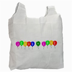 Balloons Recycle Bag (one Side)