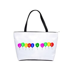 Balloons Large Shoulder Bag