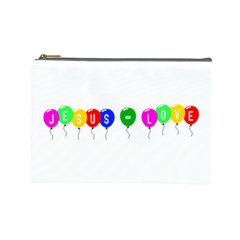 Balloons Cosmetic Bag (large)