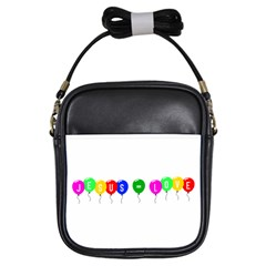 Balloons Girl s Sling Bag