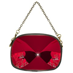 Fractal Evening Bag Chain Purse (one Side)