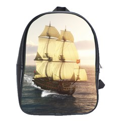 French Warship School Bag (large)