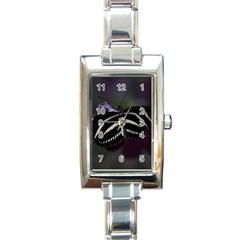 Butterfly 059 001 Rectangular Italian Charm Watch