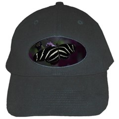Butterfly 059 001 Black Baseball Cap