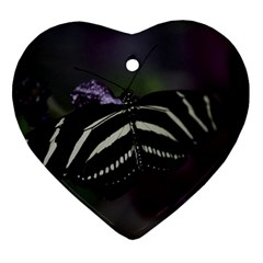 Butterfly 059 001 Heart Ornament
