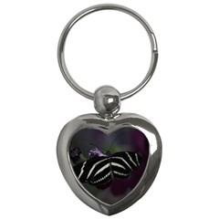 Butterfly 059 001 Key Chain (Heart)