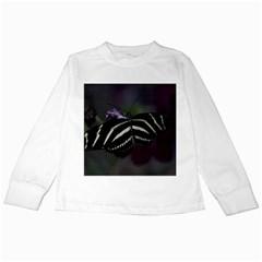 Butterfly 059 001 Kids Long Sleeve T-Shirt