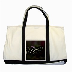 Butterfly 059 001 Two Toned Tote Bag