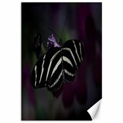 Butterfly 059 001 Canvas 12  X 18  (unframed)