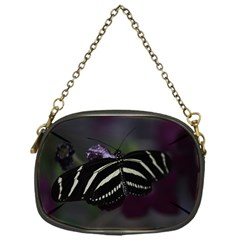 Butterfly 059 001 Chain Purse (One Side)