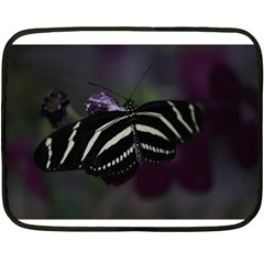 Butterfly 059 001 Mini Fleece Blanket (two Sided)