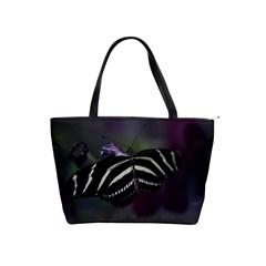 Butterfly 059 001 Large Shoulder Bag