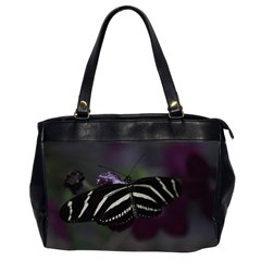 Butterfly 059 001 Oversize Office Handbag (Two Sides)