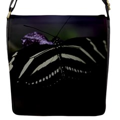 Butterfly 059 001 Flap closure messenger bag (Small)