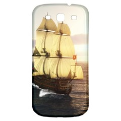 French Warship Samsung Galaxy S3 S III Classic Hardshell Back Case