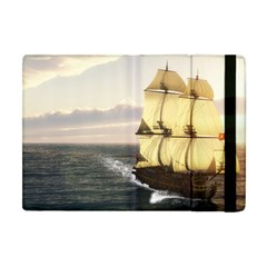 French Warship Apple iPad Mini Flip Case