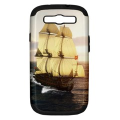 French Warship Samsung Galaxy S III Hardshell Case (PC+Silicone)