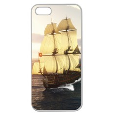 French Warship Apple Seamless iPhone 5 Case (Clear)