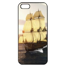 French Warship Apple iPhone 5 Seamless Case (Black)