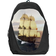 French Warship Backpack Bag