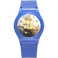 French Warship Plastic Sport Watch (Small)