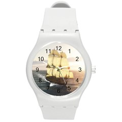 French Warship Plastic Sport Watch (medium)