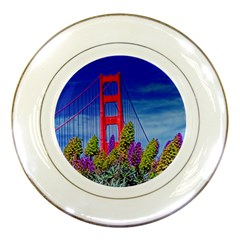 bridge in S F Porcelain Display Plate