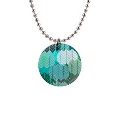 Chevrons Button Necklace