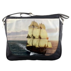 French Warship Messenger Bag