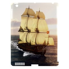 French Warship Apple Ipad 3/4 Hardshell Case (compatible With Smart Cover)