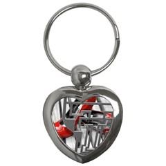 TT RED HEELS Key Chain (Heart)