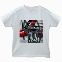TT RED HEELS Kids' T-shirt (White)