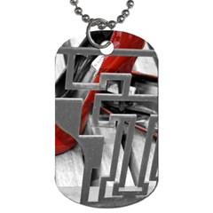 TT RED HEELS Dog Tag (One Sided)