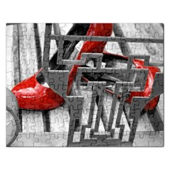 Tt Red Heels Jigsaw Puzzle (rectangle)