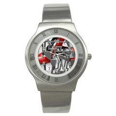TT RED HEELS Stainless Steel Watch (Unisex)