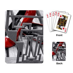 Tt Red Heels Playing Cards Single Design