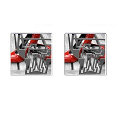 TT RED HEELS Cufflinks (Square)