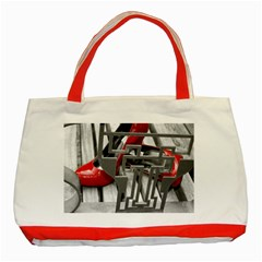 Tt Red Heels Classic Tote Bag (red)