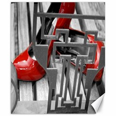 TT RED HEELS Canvas 8  x 10  (Unframed)