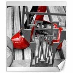 TT RED HEELS Canvas 20  x 24  (Unframed)