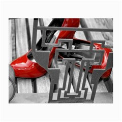 TT RED HEELS Glasses Cloth (Small, Two Sided)